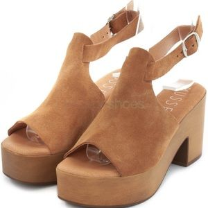 Musse&cloud Suede Back-strap Sandals